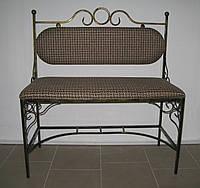 Диван кованый со спинкой №3, фото 1