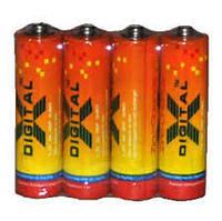 Батарейки Солевые X-DIGITAL R6(AA)