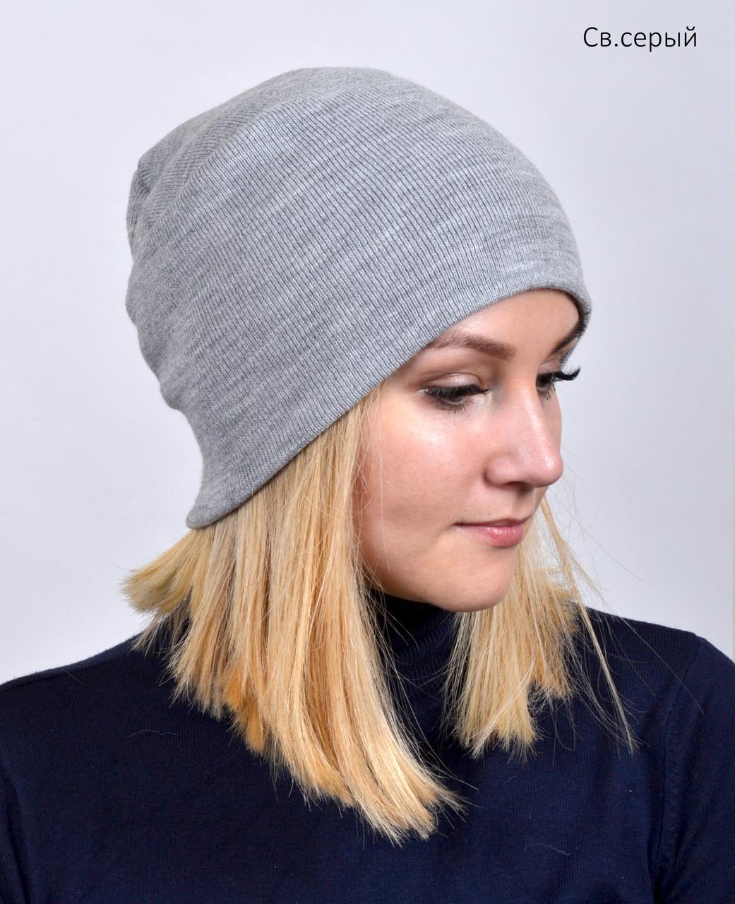 Весене осення шапка для девушек