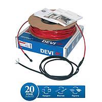 Теплый пол. Нагревательный кабель DEVI DEVIflex 18T 155м (140F1252)