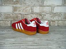 Мужские кроссовки Adidas Gazelle Indoor Red, Адидас Газели, фото 2