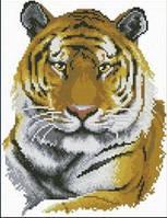 """Алмазная мозаика """"Красивый Тигр"""" (набор для творчества)"""