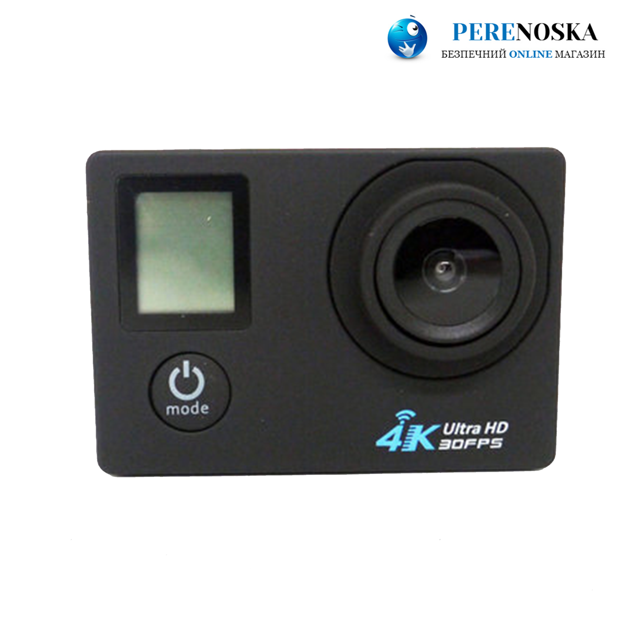 Action Camera A1 WiFi 4K + Пульт 2 дисплея