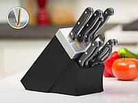 Набор ножей на подставке со встроенной точилкой 10 предметов