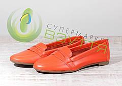 Кожаныеженские балетки MIDA 21744  38-41 размеры