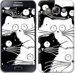 "Чехол на Samsung Galaxy E5 E500H Коты v2 ""3565c-82-328"""