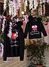 """Трикотажная женская толстовка """"MICKEY"""" с принтом и капюшоном (большие размеры), фото 6"""