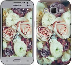 "Чехол на Samsung Galaxy Core Prime VE G361H Букет роз ""2692c-211-328"""