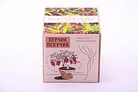 Набор для выращивания декоративных растений Экокуб Жгучий перчик