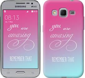 """Чехол на Samsung Galaxy Core Prime G360H Памятка для девушек """"3701c-76-328"""""""