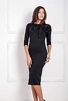 Стильне чорне вечірнє плаття Solis (S-XXL)