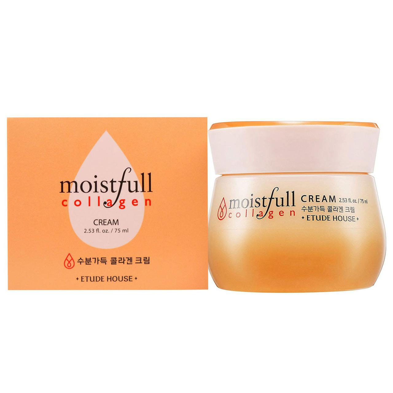 Увлажняющий крем с коллагеном ETUDE HOUSE Moistfull Collagen Cream