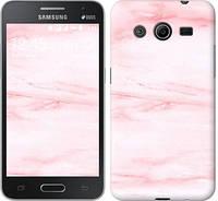 "Чехол на Samsung Galaxy Core 2 G355 розовый мрамор ""3860c-75-328"""