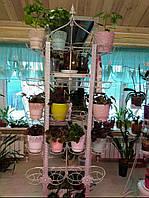 "Подставка для цветов ""Восточная настенная"" на 20 чаш"