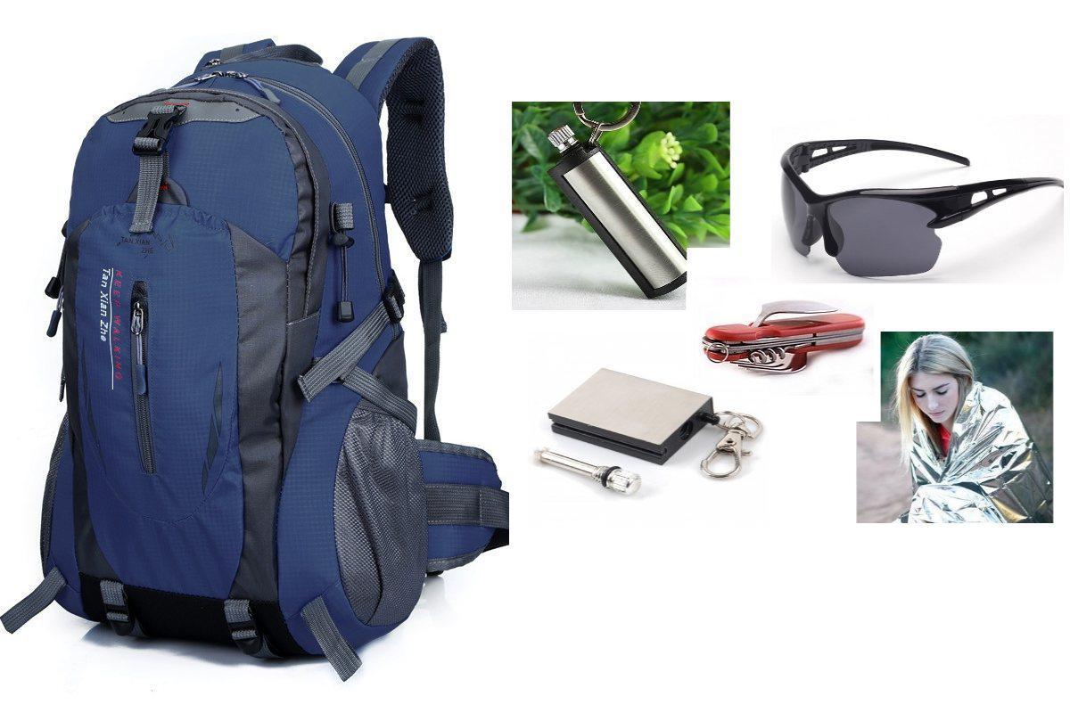 Рюкзак спортивний Mountain dark blue+ПОДАРУНОК (на вибір)