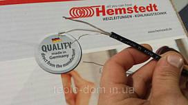 Hemstedt DR( Тонкий двужильный нагревательный кабель), 12,5Вт/м.