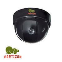 Купольная камера Partizan CDM-332HQ-7 black/white