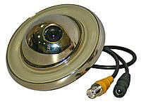 """VLC-270DU (врезная)        1/3"""" Sony EffioE - ICX673AK, 700 ТВЛ,OSD menu,f=3,6/6/8мм BLC  ВИДЕОКАМЕРЫ КУПОЛЬНЫ"""