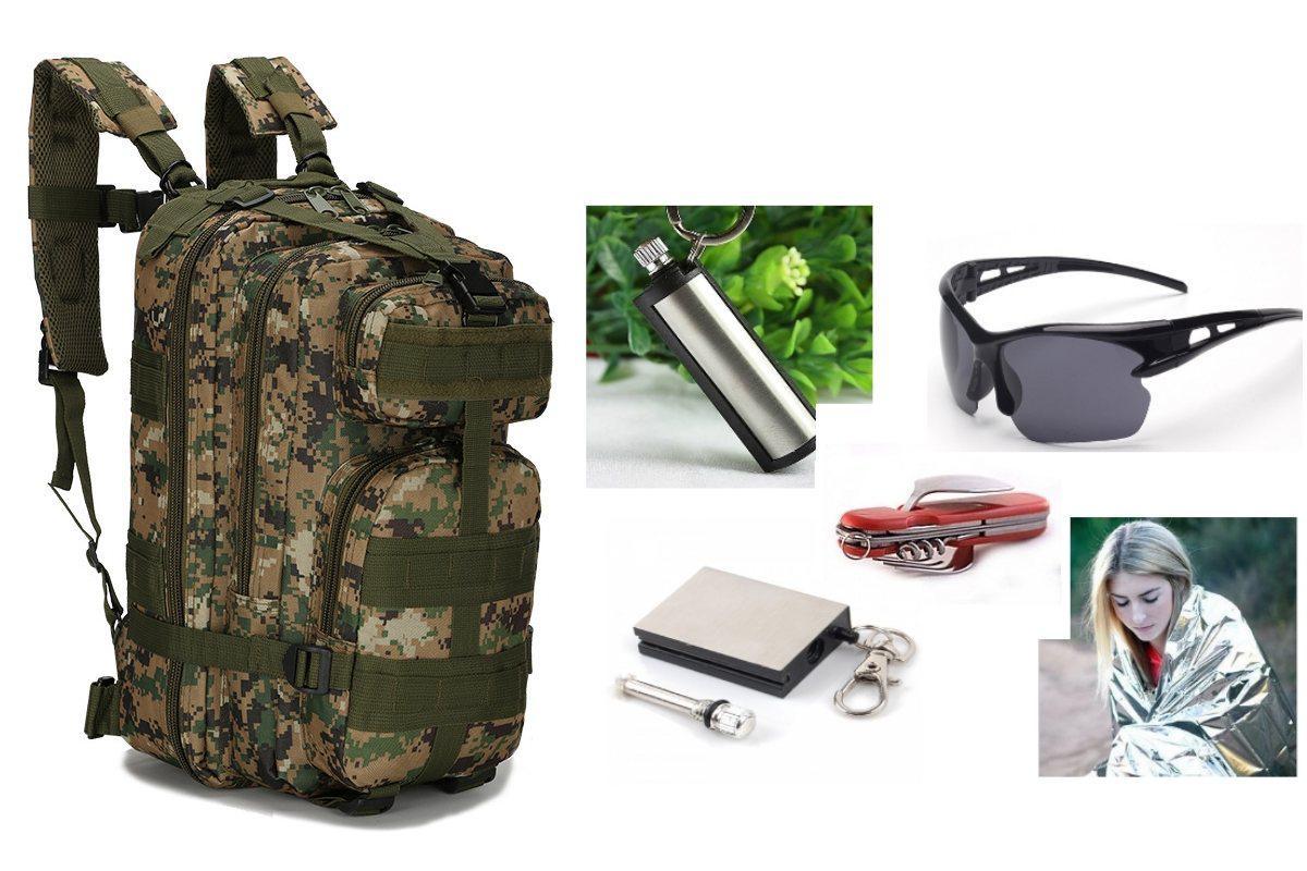 Тактический штурмовой рюкзак Abrams pixel wood+ПОДАРОК (на выбор)
