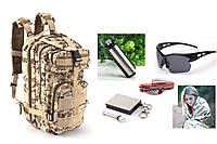 Тактический штурмовой рюкзак Abrams pixel desert+ПОДАРОК (на выбор)