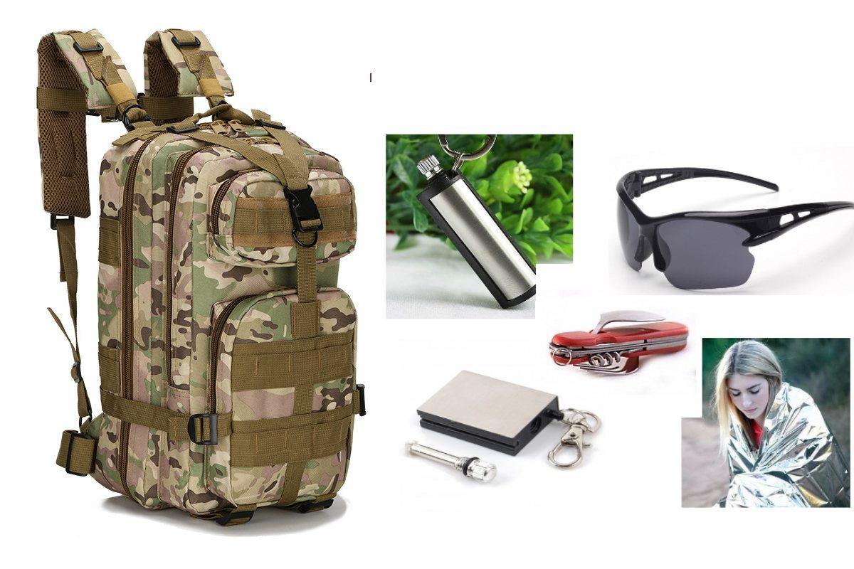 Тактичний штурмовий рюкзак Abrams green leaf+ПОДАРУНОК (на вибір)