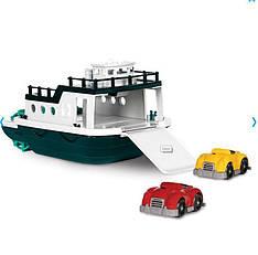 Игровой набор - ПАРОМ (корабль, 2 машинки)