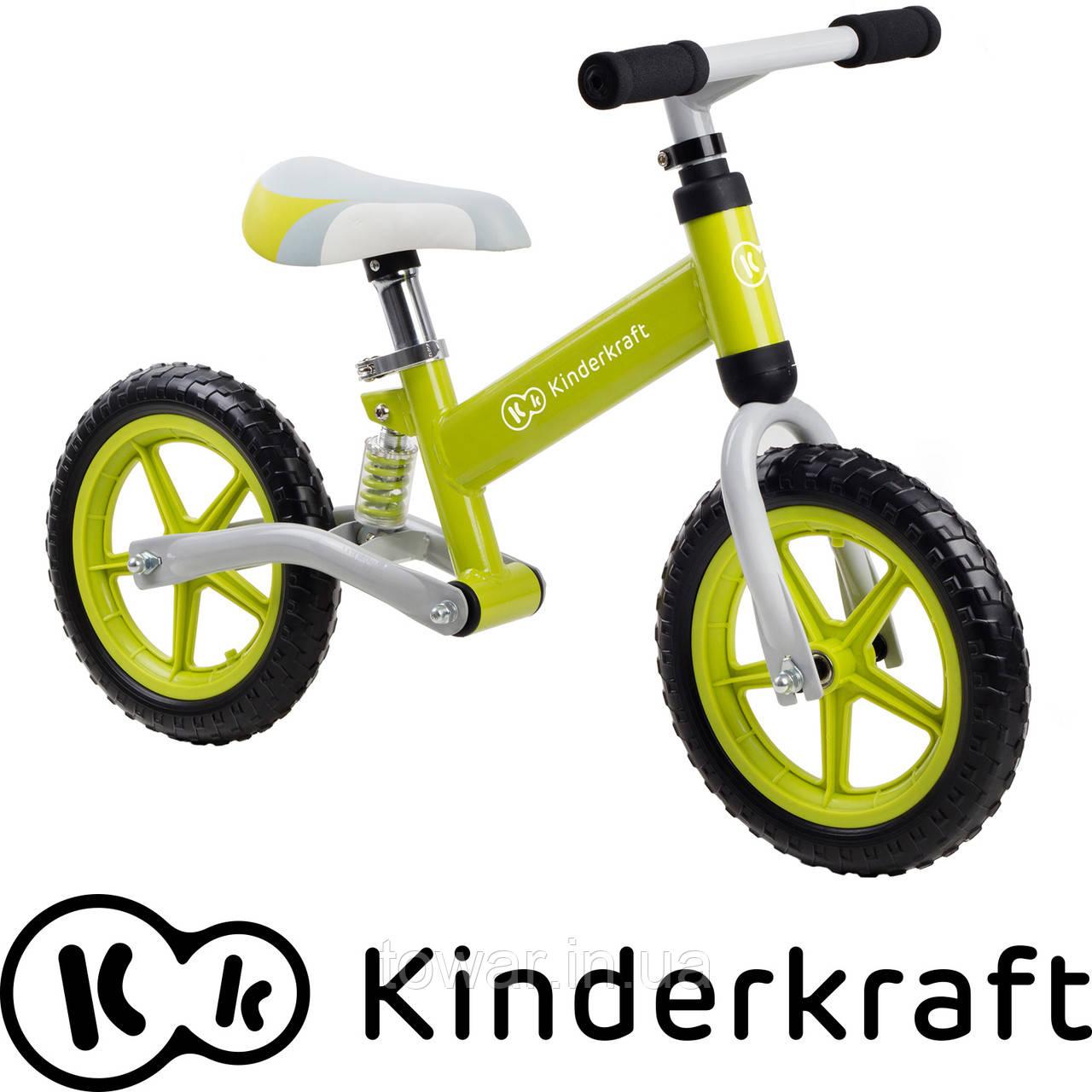 Беговел детский KinderKraft EVO с амортизатором Польша