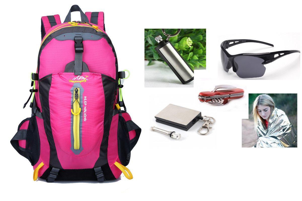 Рюкзак спортивный Mountain pink-yellow+ПОДАРОК (на выбор)