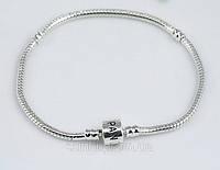 Браслет Pandora (Пандора) серебрянное украшение на руку серебро 925