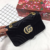Велюровая сумочка Gucci