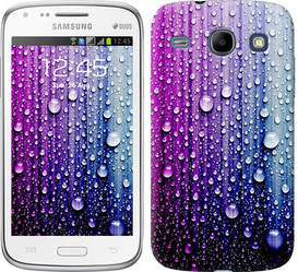 "Чехол на Samsung Galaxy Core Plus G3500 Капли воды ""3351c-359-328"""