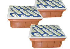 Коробка монтажная внутренняя оранжевая