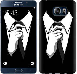 "Чехол на Samsung Galaxy Note 5 N920C Галстук ""2975c-127-328"""