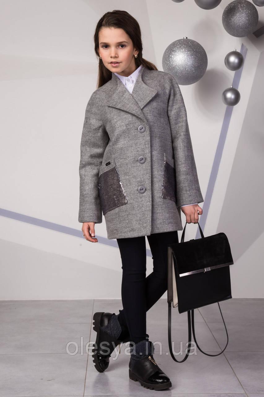 Новинка от Suzie! Пальто кашемировое для девочки Лизавета, Размеры 140- 158