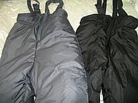 Полукомбинезон р-ы 1-5 лет (черный и серый), фото 1