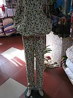 Теплая подростковая пижама из флиса