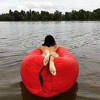 Самонадувной диван - шезлонг Lamzac Hangout (Кресло Матрас Ламзак Хенгаут морковный высочайшего качества), фото 1