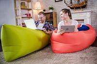 Самонадувной диван - шезлонг Lamzac Hangout (Кресло Матрас Ламзак Хенгаут Хаки (Олива) высочайшего качества), фото 1