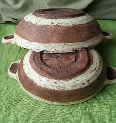 Глиняная тарелка 500мл