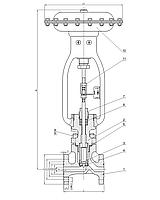 Клапаны регулирующие сальниковые стальные с МИМ односедельные