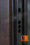 """Уличная дверь """"Кейс"""" серии """"Белорусский стандарт"""" (Орех тёмный DE-98037-10), фото 5"""