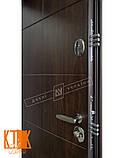 """Уличная дверь """"Кейс"""" серии """"Белорусский стандарт"""" (Орех тёмный DE-98037-10), фото 3"""