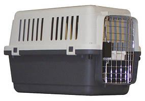 Croci C2058270 TransportboX Vagabon- переноска для животных ( 67,5 x 51 x 47 см , до 16кг )+ колеса