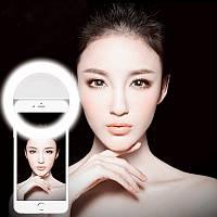 Светодиодное кольцо для селфи XJ-01 Selfie Ring Light