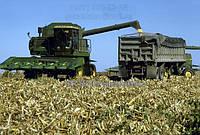 Установку горизонтальных измельчителей на кукурузные жатки