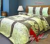 Комплект постельного белья Шабо беж евро (TAG-272е)