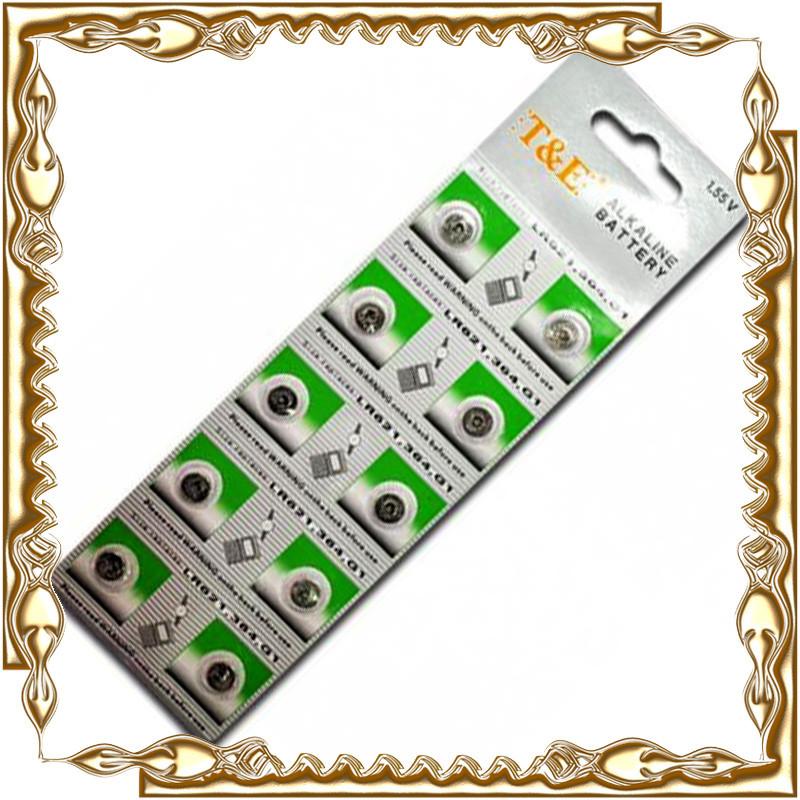 Батарейка T@E таблетка AG-3