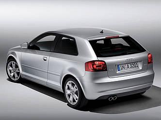 Заднее стекло на Audi A3 (2003-2012), комби, с антенной для радио, с антенной GPS