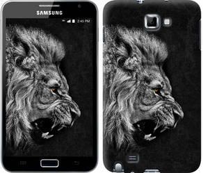 "Чехол на Samsung Galaxy Note i9220 Лев ""1080c-316-328"""
