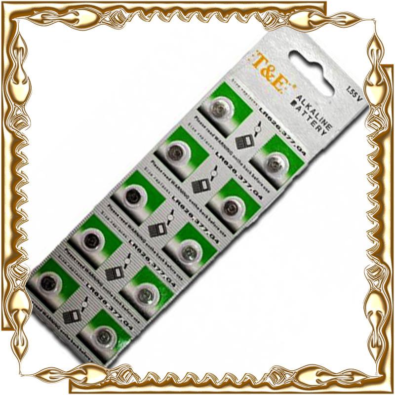 Батарейка T@E таблетка AG-4